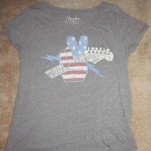 Lucky Brand Fender T shirt
